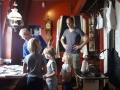 Eddy met bezoekers op Voorburgse Molendag 8-7-17