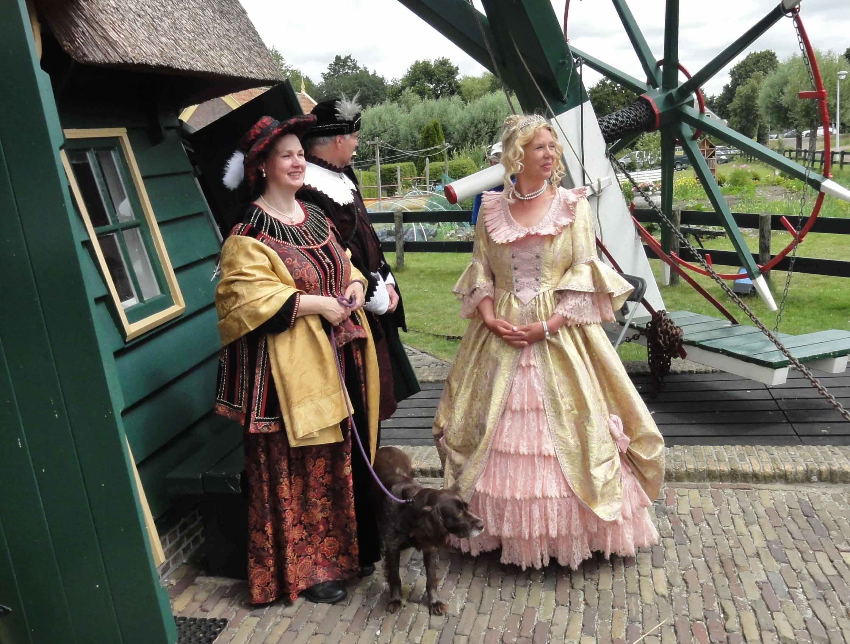 3-Voorburgse-Molendag-2019-Rembrandt-Saskia-en-Louise